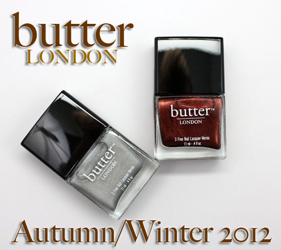 butter LONDON Autumn/Winter 2012 Swatches & Review | Vampy Varnish