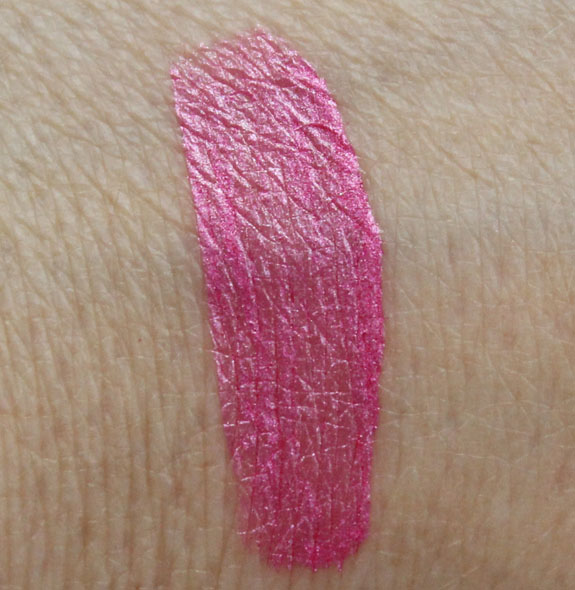 Kat Von D Foiled Love Liquid Lipstick Backstage Bambi Swatch Kat Von D Foiled Love Liquid Lipstick in Backstage Bambi