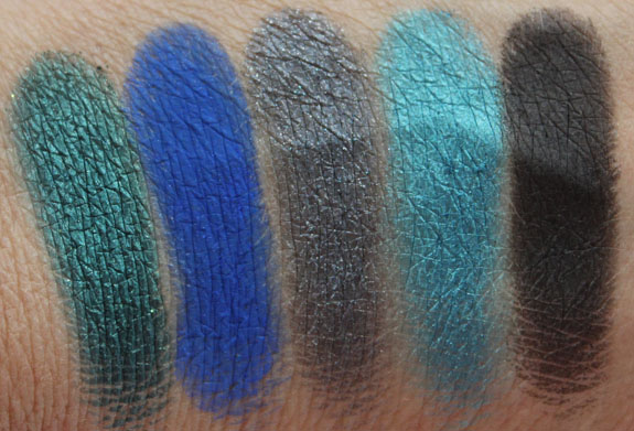 Urban Decay The Vice Palette Swatches 2