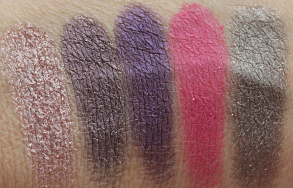 Urban Decay The Vice Palette Swatches 3