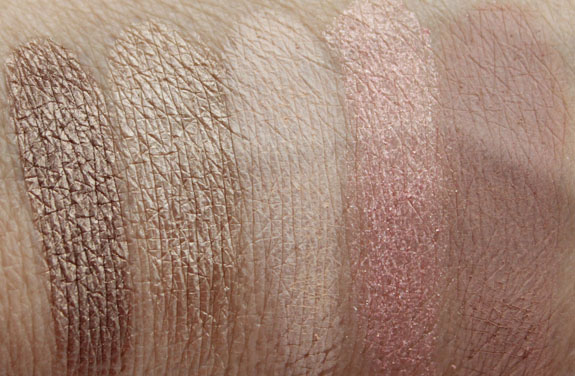 Urban Decay The Vice Palette Swatches 4