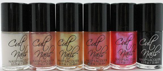 Cult Nails Deceptive Collection 2 Cult Nails Deceptive Collection Swatches & Review