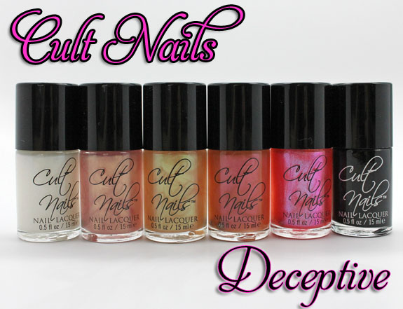 Cult Nails Deceptive Collection Cult Nails Deceptive Collection Swatches & Review