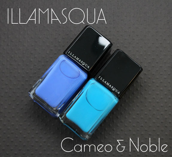 Illamasqua Cameo Noble Nail Varnish Illamasqua Nail Varnish Sephora Exclusives: Cameo & Noble Swatches & Review