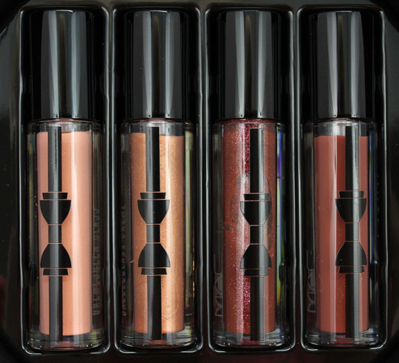 MAC Guilty Passions Nicely Nude Lip Gloss 2 MAC Guilty Passions Nicely Nude Lip Gloss for Holiday 2012 Swatches & Review