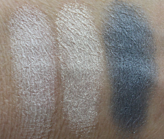 MAC Marilyn Monroe Large Eye Shadow Swatches