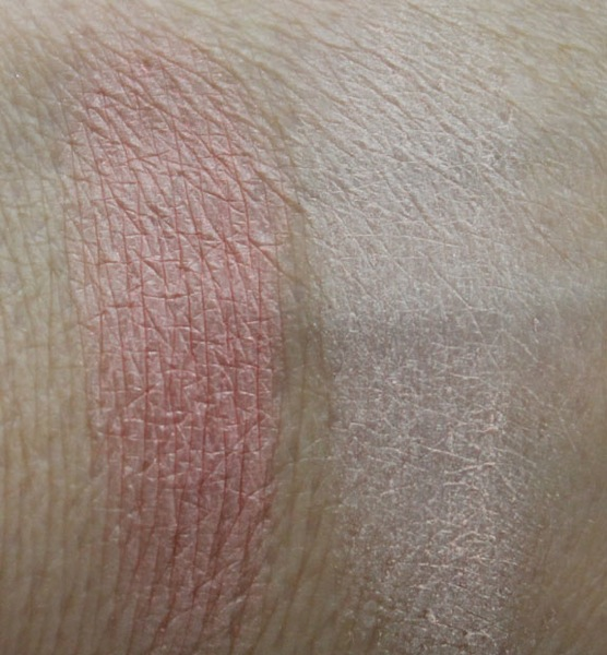 MAC Marilyn Monroe Legendary and Forever Marilyn Swatches