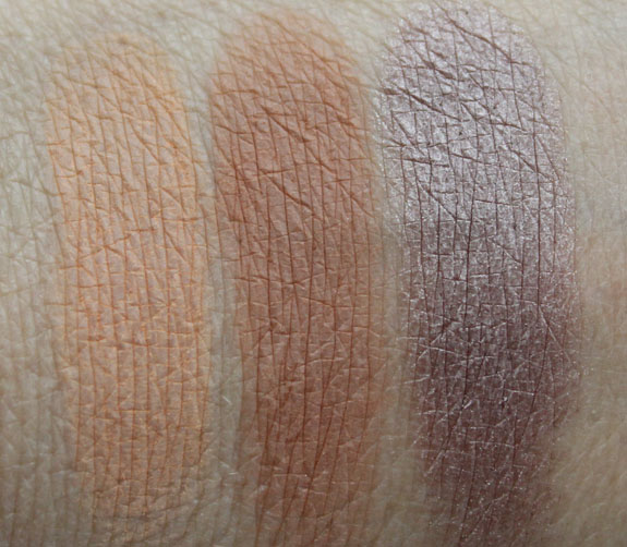 Makeup Geek Eyeshadows Swatches