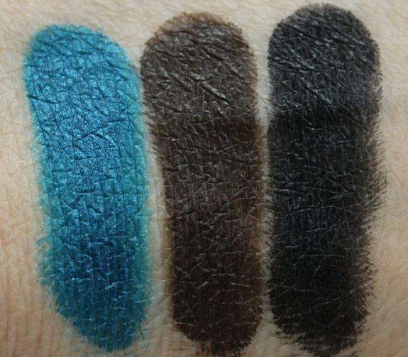 Makeup Geek Gel Liner Swatches 2