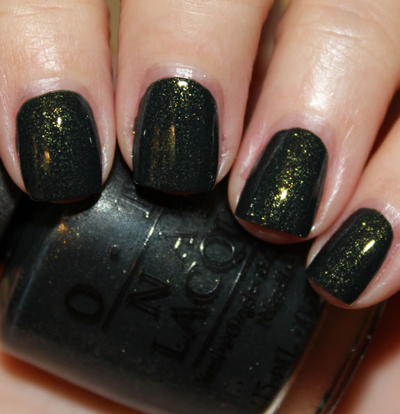 Black Nail Polish Color Names: OPI Skyfall Collection For Holiday 2012 Swatches, Photos