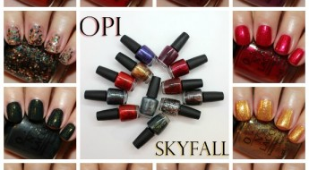 OPI Skyfall Collage