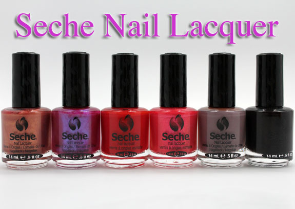 Seche New Nail Lacquer Color Collection for Fall 2012 Swatches ...