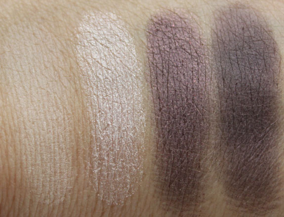 Tarte The Big Thrill Eyeshadow Swatches 2