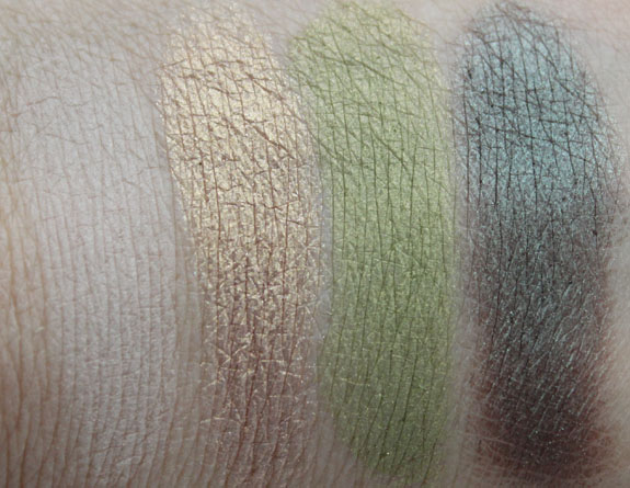 Tarte The Big Thrill Eyeshadow Swatches 4