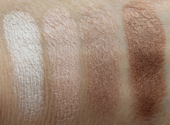 Tarte The Big Thrill Eyeshadow Swatches
