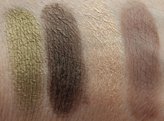 Too Faced Color Confections Swatches 4