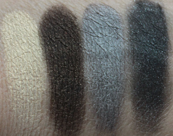 Too Faced Glamour To Go Spun Sugar Edition Swatch 2