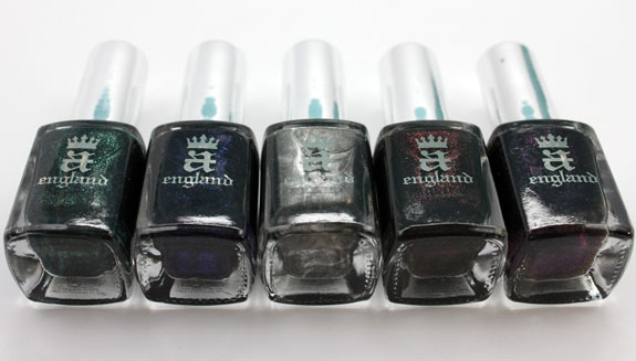 a england Gothic Beauties 2 a england Gothic Beauties Collection for Fall 2012 Swatches & Review