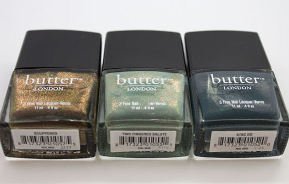 butter London Holiday 2012 and Nordstrom Exclusive Nail Lacquer Swatches & Review | Vampy Varnish