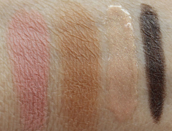 Bare Minerals Light Show Swatches 2