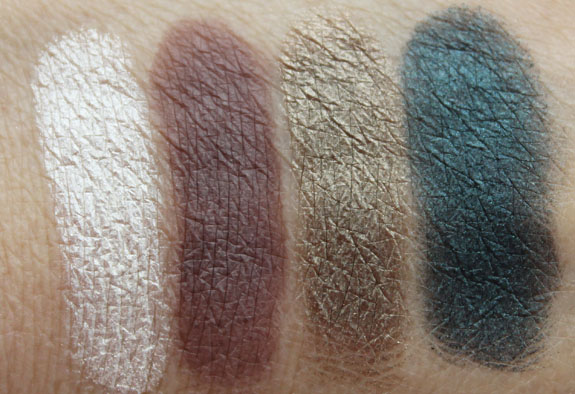 Bare Minerals Light Show Swatches