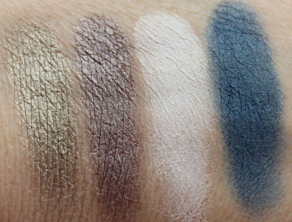 Bare Minerals The Finer Things Swatches 2