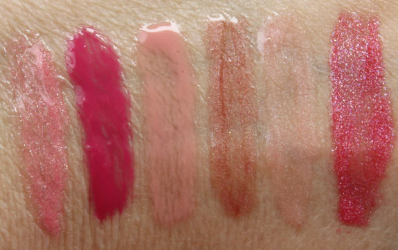 Buxom Time To Shine Swatches