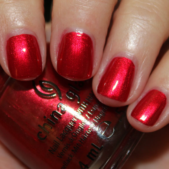 China Glaze Holiday Joy For Holiday 2012 Swatches Review Amp Giveaway Vampy Varnish