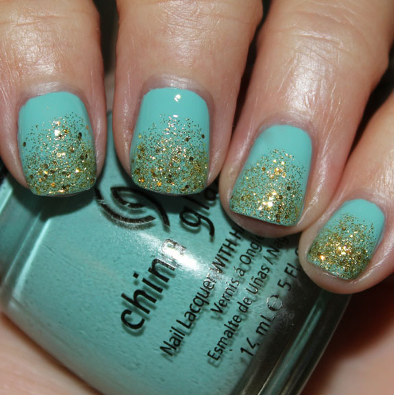 China Glaze For Audrey  Blonde Bombshell