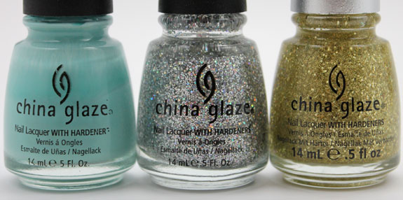 China Glaze For Audrey Holiday Nails 2