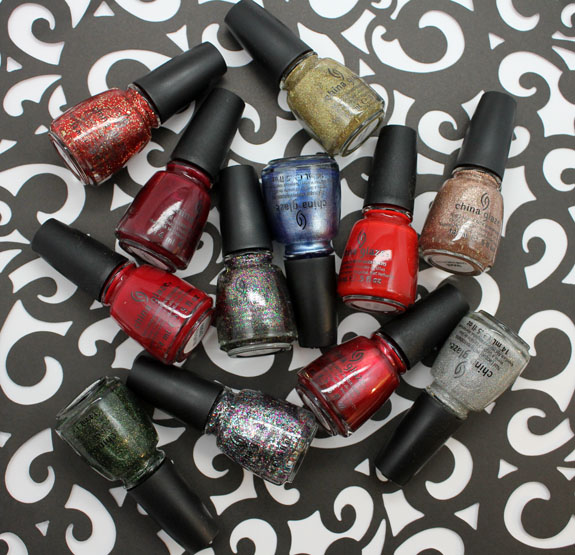 China Glaze Holiday Joy China Glaze Holiday Joy for Holiday 2012 Swatches, Review & Giveaway!