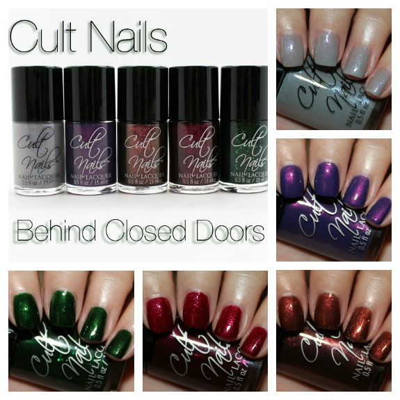 Cult Nails Behind Closed Doors Collage