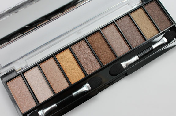 Hard Candy Top Ten Eyeshadow Collection in Naturally Gorgeous 2