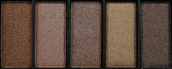 Hard Candy Top Ten Eyeshadow Collection in Naturally Gorgeous 4
