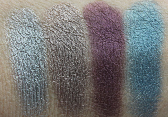 Kat Von D True Romance Eyeshadow Palette in Star crossed Swatches