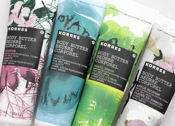 Korres Butter Me Up Collection 3
