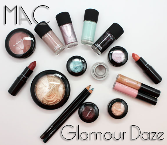 MAC Glamour Daze MAC Glamour Daze for Holiday 2012 Swatches & Review