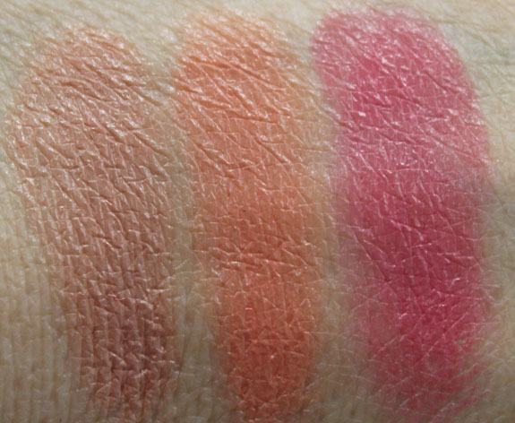 MAC Spring  13 Forecast Lips Palette Swatches 1