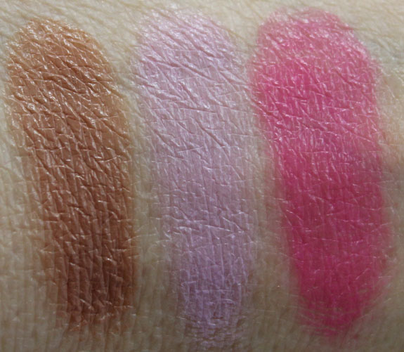 MAC Spring  13 Forecast Lips Palette Swatches 2