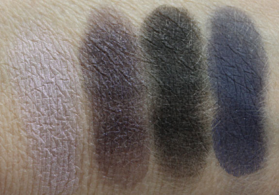 MAC Taste Temptation Eye Shadow Swatches