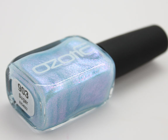 Ozotic Sugar Bottle Picture Polish Ozotic 903 Swatches, Photos & Review