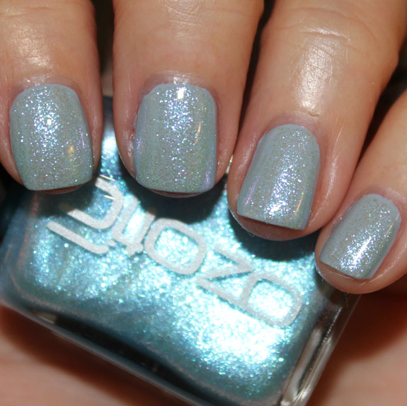 Ozotic Sugar over Zoya Kristen Picture Polish Ozotic 903 Swatches, Photos & Review
