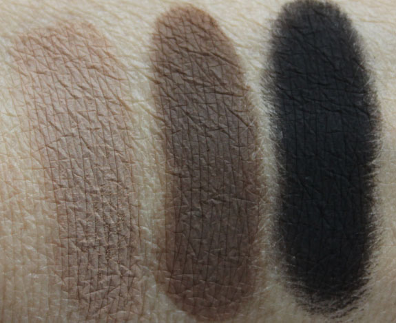 Urban Decay Naked Basics Swatches 2