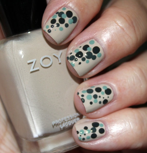 Zoya Dot Mani with Farah 2