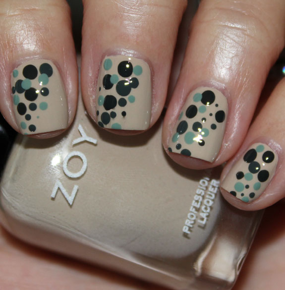 Zoya Dot Mani with Farah