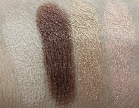 Benefit World Famous Most Glamorous Nudes Ever Swatches