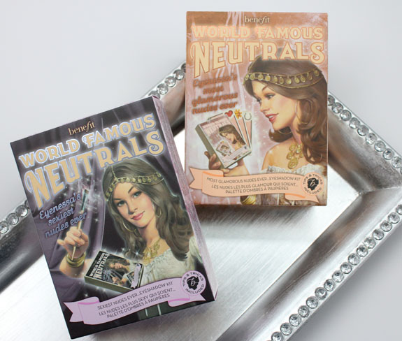 Benefit World Famous Neutrals Eyeshadow Kits Coming in January   Benefit World Famous Neutrals Eyeshadow Kits Swatches, Photos & Review