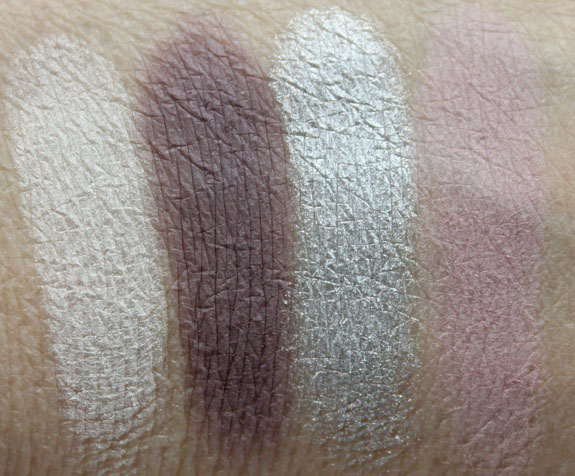 Benefit World Famous Neutrals Sexiest Nudes Ever Swatches
