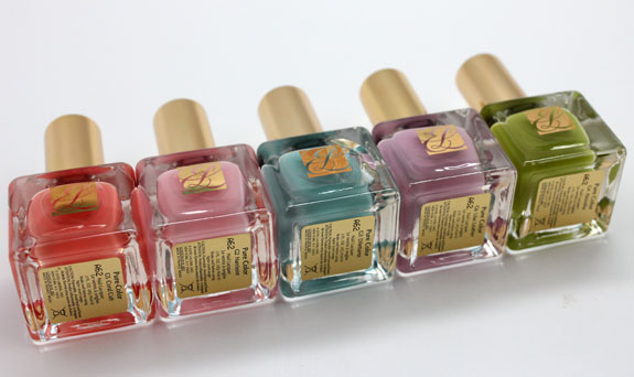 Estee Lauder Heavy Petals 2 Estee Lauder Heavy Petals Nail Lacquer Collection for Spring 2013 Swatches & Review