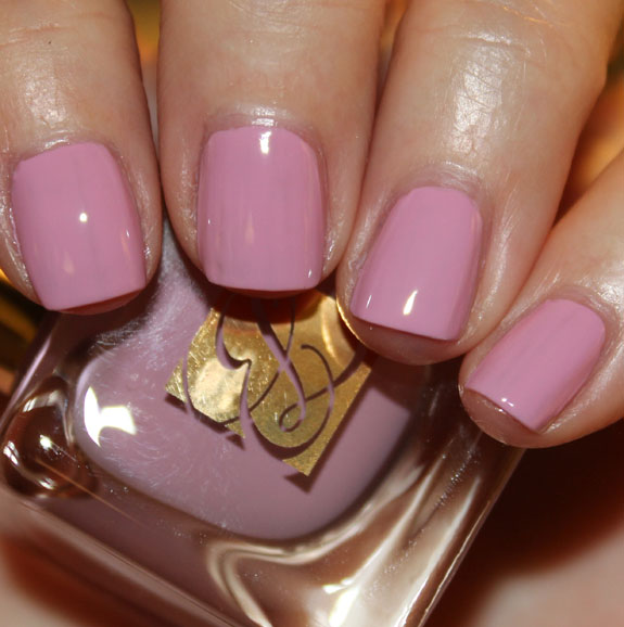 Estee Lauder Lilac Leather Estee Lauder Heavy Petals Nail Lacquer Collection for Spring 2013 Swatches & Review